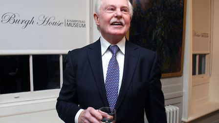 Sir Derek Jacobi at Burgh House last week, where he was the special guest in the Lifelines series of