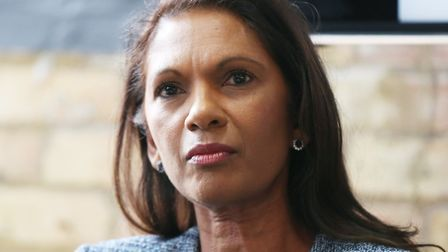 Gina Miller. Photo by Isabel Infantes / EMPICS Entertainment.