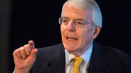 Sir John Major has attacked Brexiteers in his latest Brexit intervention. Photo: PA / Dominic Lipins