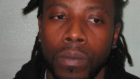 Hezron Curtis has been jailed after his pit bull dog 'Lucky' maimed the four-year-old girl outside G