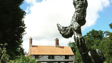 The Waveney Valley Sculpture Trail will be at the Raveningham Centre, near Beccles. Photo: Waveney a