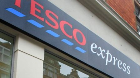 The Tesco in Heath Street was thought to be the victim of a suspected armed robbery at 7am this morn