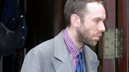 Chris Atkins at court. Picture: Ed Willcox/Central