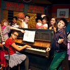 """Students from Regent's High School and UCL Academy rehearse """"High School Musical On-Stage"""". Picture:"""
