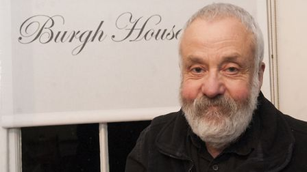 Film director Mike Leigh at Burgh House as part of the Lifelines series of talks. Picture: Nigel Sut