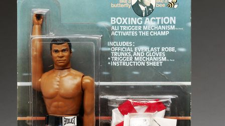Dress up as a super hero and check out retro action figures such as Muhammed Ali at a pop-up archive