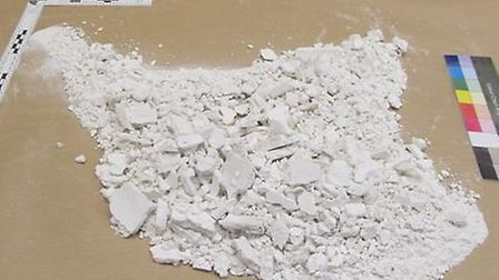 About 1kg of cocaine was intercepted at Luton Airport.
