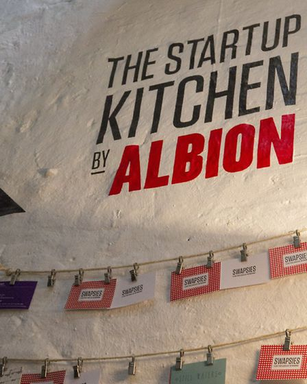 The first Albion Start Up Kitchen