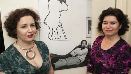 Calman meets Freud, exhibition of Mel Calman cartoons at The Freud Museum curated by his daughters C