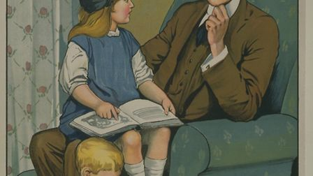 Take your children to a workshop exploring World War I on Tuesday