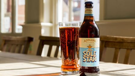 Adnams' low-alcohol ale Sole Star. Picture: Sarah Groves.