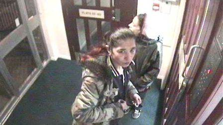 Suspect two seen entering Ajex House