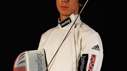Marcus Mepstead of the Great Britain fencing team. Pic: Matthew Lewis/Getty Images for Beazley)