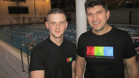 Vasil Simov (right) has joined the club as an assistant coach to the performance and junior programm