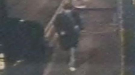 A still of the suspect who assaulted a woman in Shoreditch Park