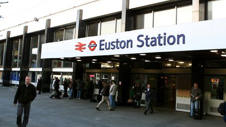 File photo dated 1/2/08 of a general view of Euston Railway Station in central London as plans to kn