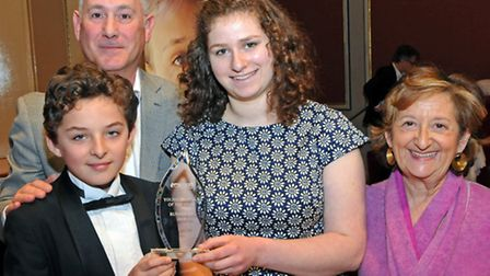 Joint runners-up in the Emunah Young Musician of the Year competition, Alessandro d'Orazio and Olivi