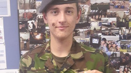 Cpl Roe completed the 160km Nijmegen Marches in the Netherlands. Photo: Courtesy of 469 Squadron The