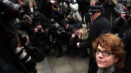 ALTERNATIVE CROP. Vicky Pryce arrives at Southwark Crown Court in London, where she will be sentence