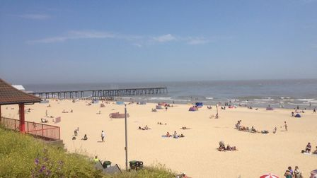 Lowestoft beach is a popular destination during the summer. Picture: Joe Randlesome.