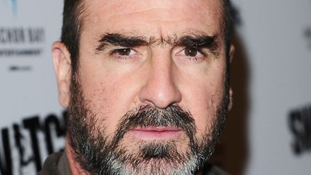 Eric Cantona. Picture: Ian West/PA