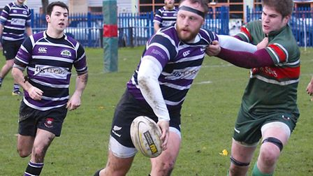 Fred House captained Belsize Park and scored two tries. Pic: Tony Gay