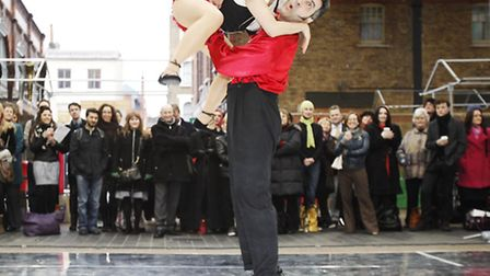Learn how to swing dance at the Hackney Attic on Saturday. Picture: PA