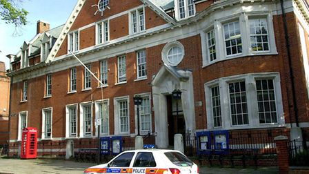 Hampstead Police Station closed in June last year. Picture: Nigel Sutton