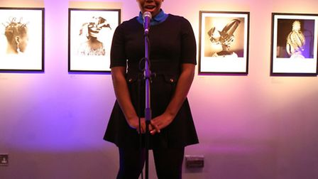 Zjavica Carly, 17, from 5th Hackney Senior Section performs