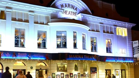 The Marina Theatre in Lowestoft. Picture: Mick Howes