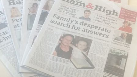 The Ham&High has been commended for its editorial excellence at the 2014 Newspaper Awards