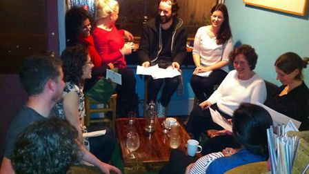 February's Positive Birth Movement meeting in Dalston.