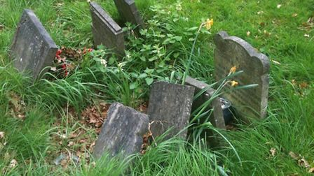 Paupers' graves