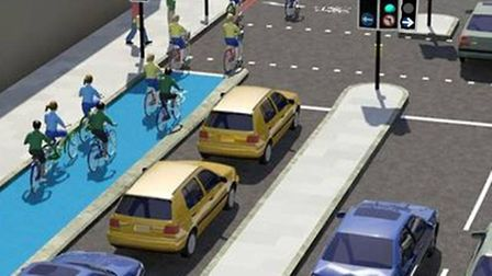 What the new 'left hook' junction could look like