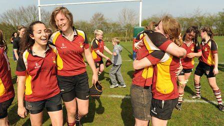 Therew was joy and tears for Hampstead ladies as they contested the final of the Women's Intermediat