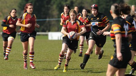 Niki Fitzgerald on the attack