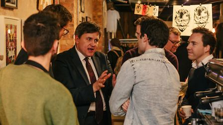 Deputy mayor Kit Malthouse at the launch of C/159 retail space