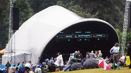 Last year's Live By The Lake 2013 summer programme of Kenwood concerts. Picture: Dieter Perry