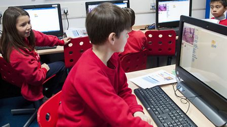 Children at all Camden primary schools are already being taught how to code. Picture: Nigel Sutton