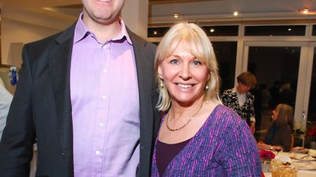 Nadine Dorries MP with Hampstead and Kilburn parliamentary candidate Cllr Simon Marcus.