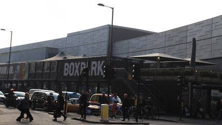 BoxPark, Shoreditch