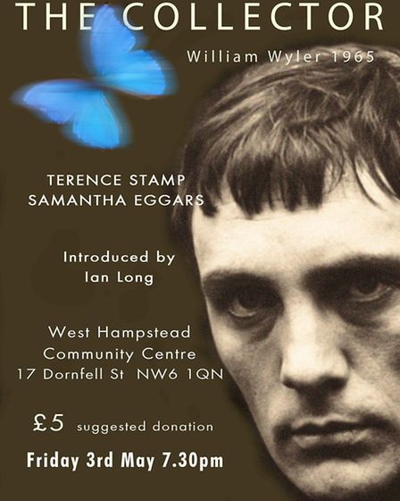 The Collector, starring Terence Stamp, was filmed in Hampstead