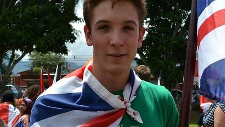 Lucas Drummond, 16, fell to his death in a rock climbing accident