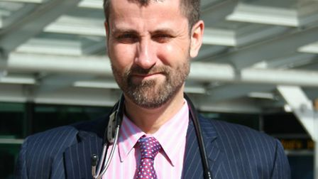Dr Richard Jennings, an infectious diseases consultant, is heading up a new Tuberculosis treatment c