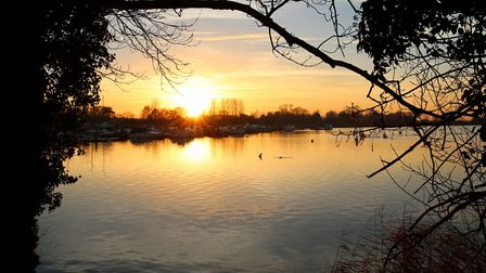 This sunset shot, taken at Nicholas Everitt Park last December, has won the Journal's Picture of the