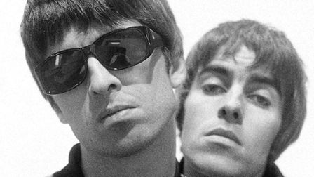 Noel and Liam Gallagher of Oasis in Britpop's heyday. Picture: Paul Slattery