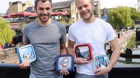 Camden entrepreneurs Jake Hayman and Joe Kenyon hope to bring picture frames back with their latest