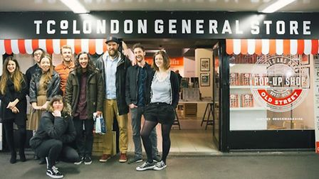 Little White Lies, the first ever pop-up store at Old Street Station
