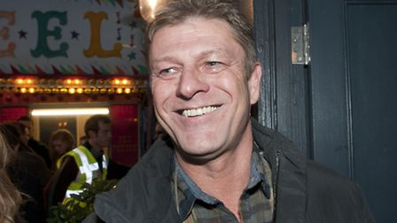Sean Bean, pictured at the Hampstead Christmas Festival, plays Maisie's on-screen dad Ned Stark in h