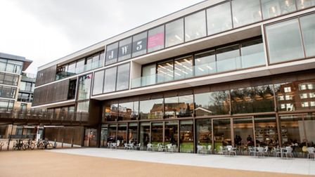 The JW3 centre in Finchley Road has been commended by RIBA. Picture: Blake Ezra Photography Ltd